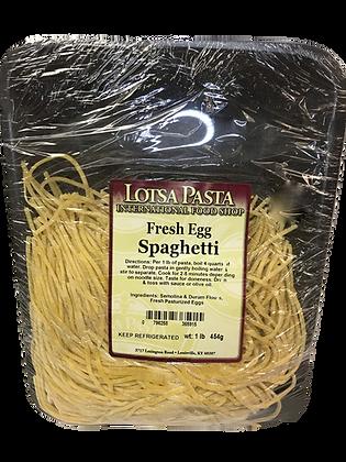 Fresh Egg Spaghetti