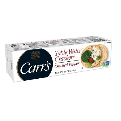 Carr's Black Pepper Table Water Crackers