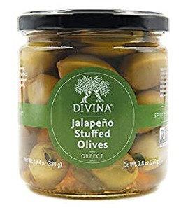 Divina Jalapeno Stuffed Olives