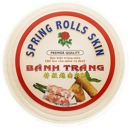 Banh Trang Spring Rolls Skins (round)