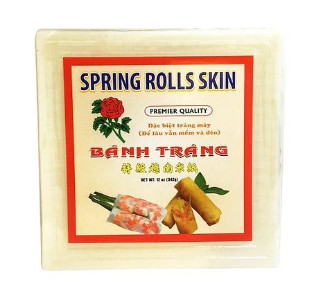 Banh Trang Spring Rolls Skins (square)