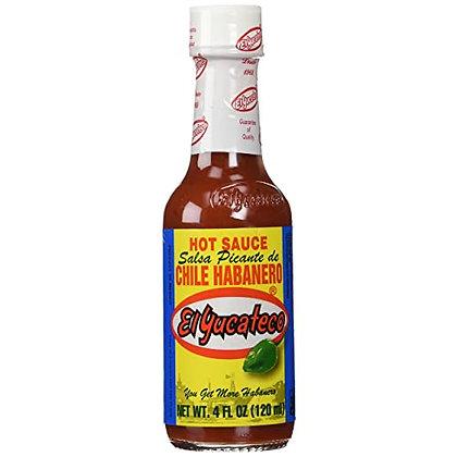 El Yucateco Habanero Hot Sauce