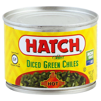 Hatch Hot Diced Green Chiles