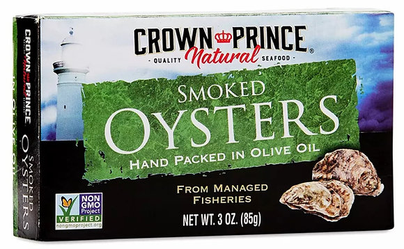 Crown Prince Smoked Oysters