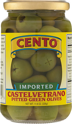 Cento Imported Pitted Castelvetrano Olives
