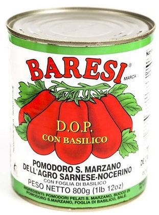 Baresi D.O.P. Tomatoes w/ Basil