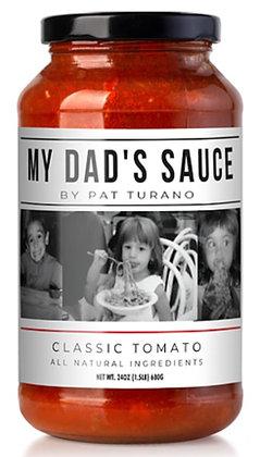 My Dad's Classic Tomato Sauce