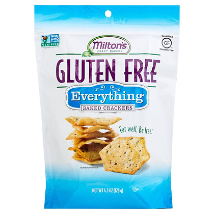 Milton's Gluten-free Everything Baked Crackers