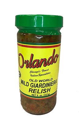 Orlando Mild Giardiniera Relish (8 oz)