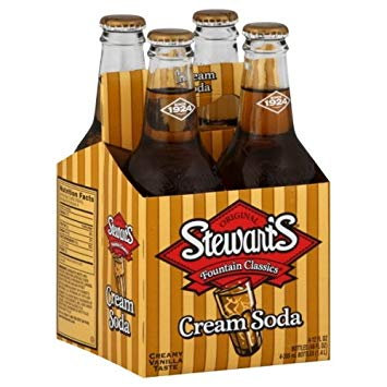 Stewart's Cream Soda (4-pack)