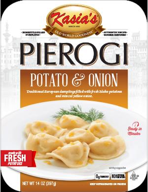 Kasias Potato & Onion Pierogi