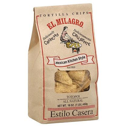 El Milagro Tortilla Chips