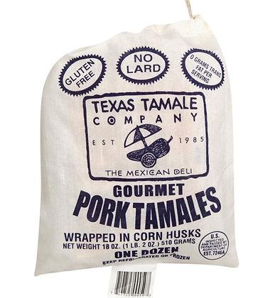Texas Tamale Pork Tamales
