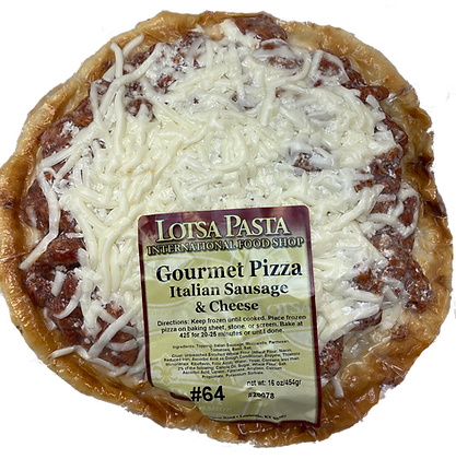 Italian Sausage Gourmet Pizza