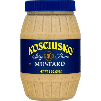 Kosciusko Spicy Brown Mustard