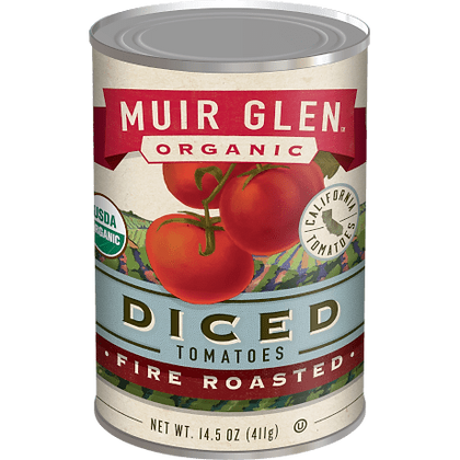 Muir Glen Fire Roasted Diced Tomatoes (14.5 oz)