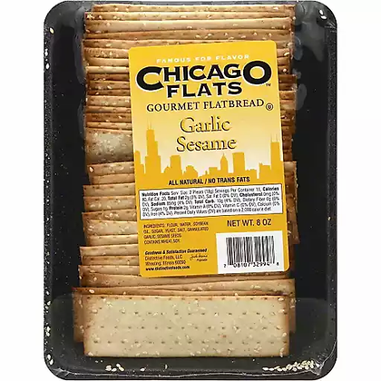 Chicago Flats Garlic Sesame