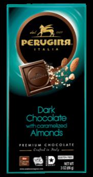 Perugina Dark Chocolate with Caramelized Almonds