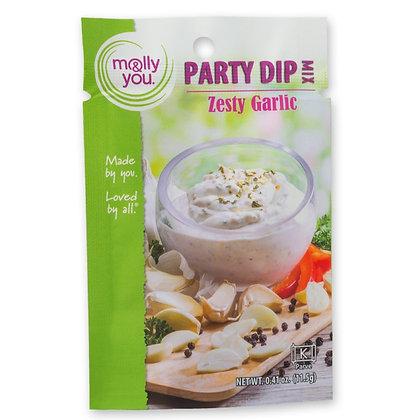Molly & You Zesty Garlic Dip Mix