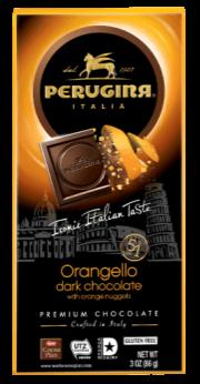 Perugina Orangello Dark Chocolate Bar