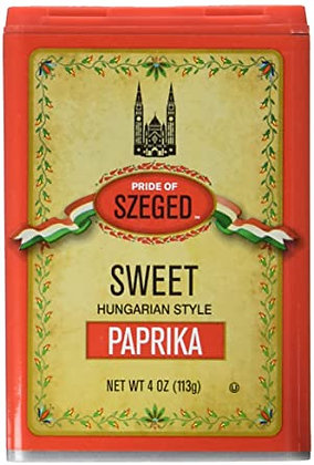 Szeged Hungarian Sweet Paprika