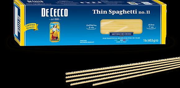 DeCecco Thin Spaghetti #11