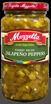 Mezzetta Diced Tamed Jalapenos (10 oz)