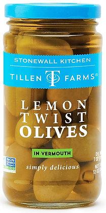 Tillen Farms Lemon Twist Olives