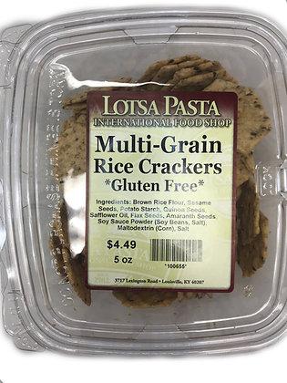 Multi-Grain Rice Crackers