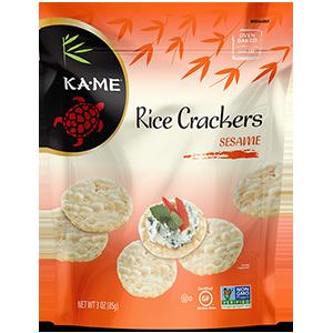 Kame Sesame Rice Crackers