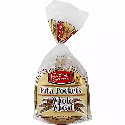 Father Sam's Wheat Pita Pockets