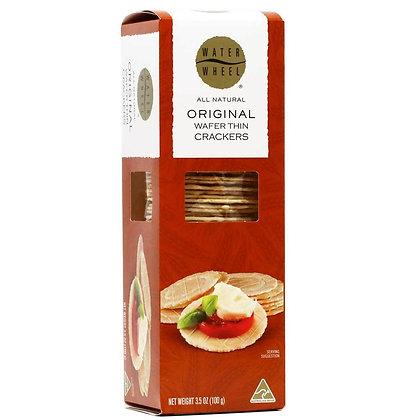 Water Wheel Original Wafer Crackers