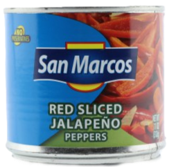 San Marcos Red Sliced Jalapenos