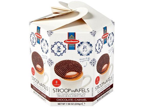 Daelman's Chocolate Caramel Stroopwafels