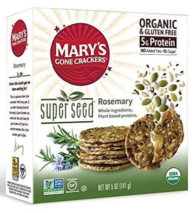 Mary's Rosemary Super Seed Crackers