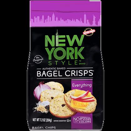 New York Style Bagel Crisps - Everything