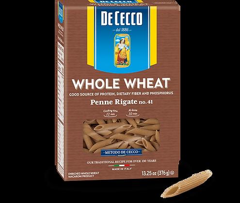 DeCeccco Whole Wheat Penne Rigate #41