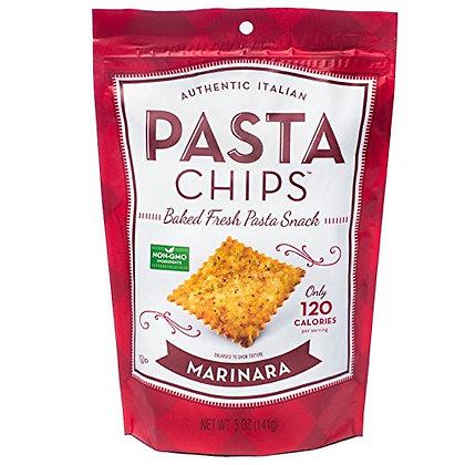 Italian Pasta Chips Marinara
