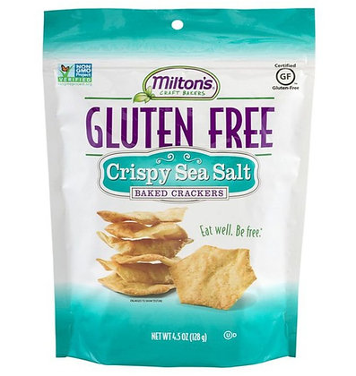 Milton's Gluten-free Sea Salt Baked Crackers