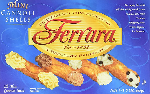 Ferrara Mini Cannoli Shells