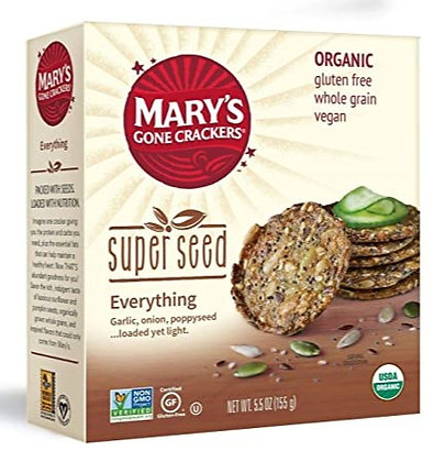 Mary's Everything Super Seed Crackers