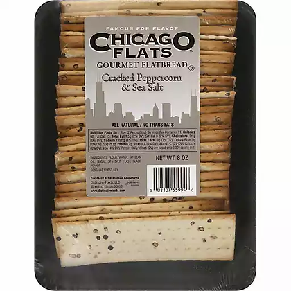 Chicago Flats Black Peppercorn