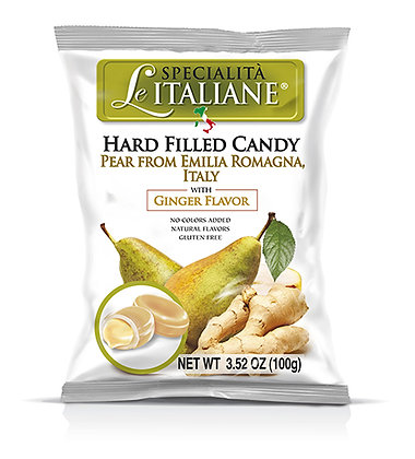 Le Italiane Pear & Ginger Hard Filled Candy