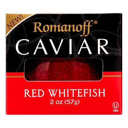 Romanoff Red Whitefish Caviar