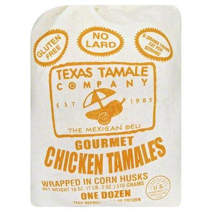 Texas Tamale Chicken Tamales