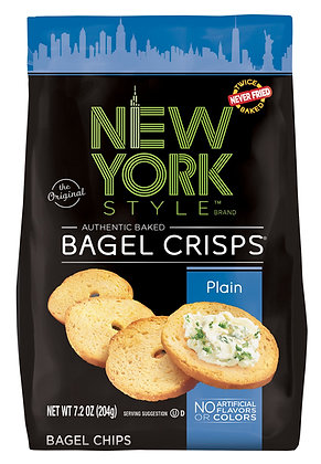 New York Style Bagel Crisps - Plain