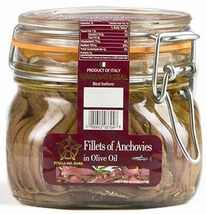 Stella del Mare Fillets of Anchovies (19.05 oz)