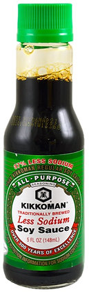 Kikkoman Less Sodium Soy Sauce (5 oz)