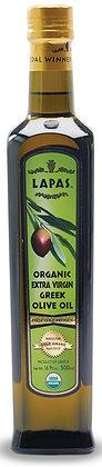 Lapas Organic Greek Extra Virgin Olive Oil