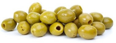 French Green Olives (pitted)